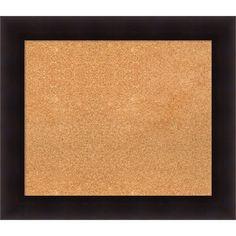 "Darby Home Co Hillandale Cork Bulletin Board Size: 26"" H x 30"" W x 0.88"" D"
