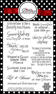 Snowflake Sentiments