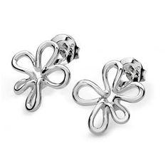 LucyQ Splash Studs Earrings in Sterling Silver