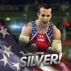 Danell Leyva takes home silver on parallel bars! #Rio2016