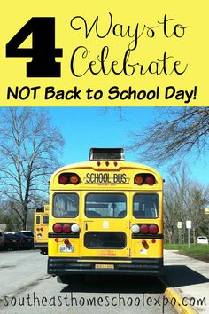 Starting a not back to school day tradition can be an awesome way to kick off your homeschool year! Here are 4 ways to celebrate not back to school day! Best Homeschool Curriculum, Homeschool Supplies, How To Start Homeschooling, Homeschooling Resources, New School Year, First Day Of School, School Days, Back To School, School Stuff
