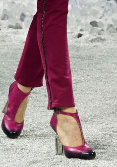 Chanel Fall 2012. I am totally in love with these shoes