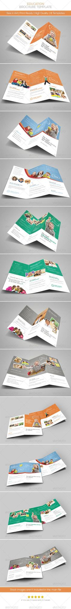 Premium Education Brochure Tri-fold
