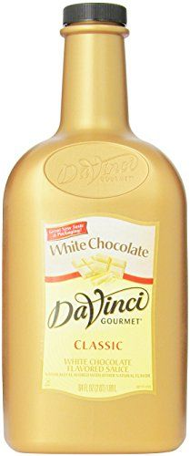 DaVinci Gourmet Sauce White Chocolate 64 Ounce ** Be sure to check out this awesome product. Note: It's an affiliate link to Amazon.