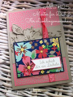 stampin up stampinwithfanny muster für dich für lieblingsmenschen affectionately yours love and affection match the sketch flirty flamingo flamingorot #stampinwithfanny new catalog 2016-2017