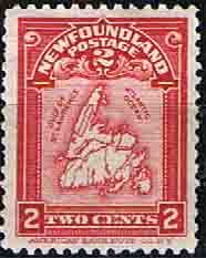 Newfoundland 1908 SG 94 Map Fine Mint Scott 86 Other North American and British Commonwealth Stamps HERE! Canada, Vintage Stamps, World Cultures, Stamp Collecting, Newfoundland, North West, Envelopes, Ephemera, North America