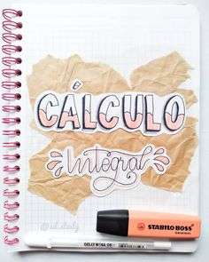 Bullet Journal School, Bullet Journal Titles, Bullet Journal Banner, Bullet Journal Aesthetic, Bullet Journal Inspiration, Cute Notes, Pretty Notes, Bellet Journal, Stabilo Boss