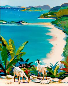 The artwork for the Artisan Range of Island Store products is created by internationally acclaimed contemporary artist, Shari Erikson, who has been privately commissioned by both US and Liat. Haitian Art, Caribbean Art, Tropical Art, Arte Pop, Paintings I Love, Naive Art, Beach Art, African Art, Art Oil
