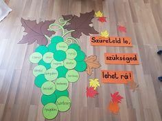 Classroom Board, Classroom Decor, Autumn Activities, Kindergarten Math, Preschool Crafts, Classroom Management, Sunday School, Education, Biblia