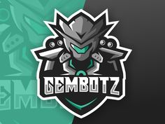 Robot Esports Logo Gaming Team designed by Gorila_arts. Connect with them on Dribbble; the global community for designers and creative professionals. Team Robot, Spartan Sports, Esports Logo, Robot Design, Great Logos, Game Logo, Cool Logo, Logo Inspiration, Cyber