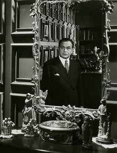 "Edward G. Robinson en ""Al Margen de la Vida"" (Flesh and Fantasy), 1943"