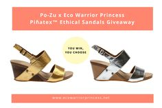 Po-Zu x Eco Warrior Princess Ethical Sandals Giveaway