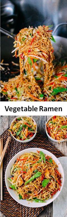 Vegetable Ramen