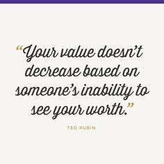 Know your worth. See your value. #inspiration