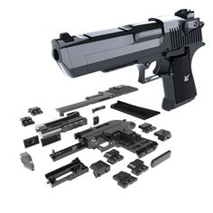 Cheap gun desert, Buy Quality toy gun directly from China be be gun Suppliers: DIY Building Blocks Toy Gun Desert Eagle Assembly Toy Brain Game Model Can Fire Bullets(Mung Bean) with Instruction Book Lego Blocks, Building Blocks Toys, Wood Blocks, Legos, Big Lego, Lego Guns, Desert Eagle, Educational Toys For Kids, Toys Online