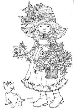 Sarah Kay Coloring Pages | Sarah Kay on Pinterest | Sarah Key, Holly Hobbie and Coloring Pages