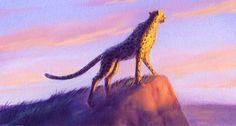 Disney Concept Art - The Lion King