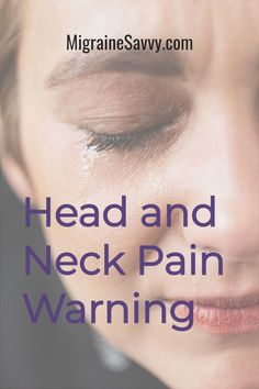 The neck can cause, trigger and be a migraine symptom. Chiropractic care is NOT recommended for neck pain associated with migraine headaches. Get these vital headache relief tips @migrainesavvy #migraines #headaches Migraine Vs Headache, Migraine Triggers, Migraine Relief, Pain Relief, Menstrual Migraines, Chronic Migraines, Migraine Pressure Points, Getting Rid Of Migraines, Natural Remedies For Uti