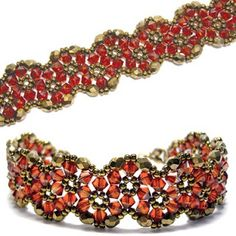 Crystal Wiggle Bracelet