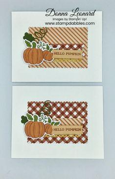 Halloween Cards, Halloween Pumpkins, Diy And Crafts, Paper Crafts, Stampin Up Paper Pumpkin, Pumpkin Cards, Stampin Up Christmas, Thanksgiving Cards, Fall Cards