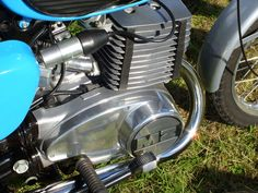 MZ TS250/1 engine - perfect detailing