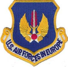 USAFE patch Air Force Reserve, Us Air Force, Air Force Patches, Civil Air Patrol, Cruise Missile, Command And Control, Military Insignia, Military Aircraft, Armed Forces