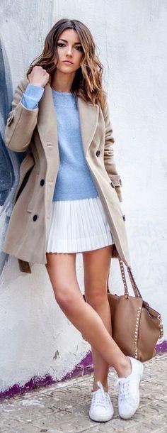Light Blue Knit Sweater by Lovely Pepa