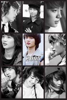 2009 MINHO IS MY FAVORITE BECAUSE OF HIS ADORABLE LONG HAIR OH MY GOSH *Squeals*