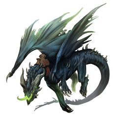 Curse of the Crimson Throne: Zarmangarof the Black Dragon, Taylor Fischer on ArtStation at https://www.artstation.com/artwork/3rR5g