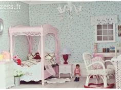 Maison de poupées : la chambre • Blythe, hujoo, pullip  dollhouse