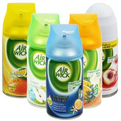 Buy Air wick Online  Airwick was launched in 1943, and it was welcomed with open arms. It was one of the first air fresheners, that didn't only look great, but also left the air inside the homes across the United States, clean and fresh.   http://www.dailyneeds247.com/Cleaning-Aids-depid-639079-page-1.html#filters%5BF_Brand%5D%5B%5D=Air+Wick&page=2