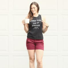 Twin Peaks muscle tank hand screened with Agent Dale cooper s iconic line 4648fef567