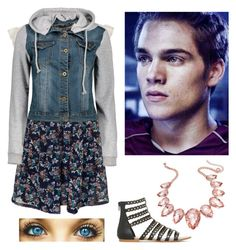 """""""Date w/ Liam"""" by heyitskayden ❤ liked on Polyvore featuring Miso, Thalia Sodi and Dunbar"""