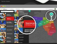 PakietyTurystyczne.pl by ivision.pl, via Behance
