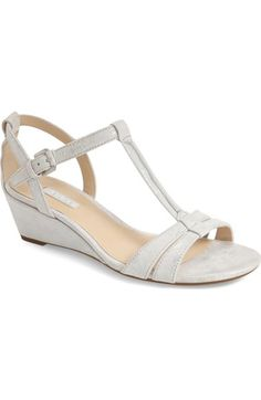 b1ea5e23b02c42 ECCO  Rivas  Wedge Sandal available at  Nordstrom T Strap Sandals
