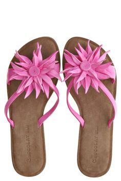 Tess Flower Sandal.. Calypso St.Barth
