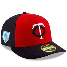 online retailer 045e9 ad530 Men s Minnesota Twins New Era Red Navy 2019 Spring Training Low Profile  59FIFTY Fitted Hat,  39.99