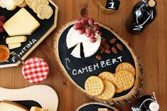 .. You can never have too much chalkboard....40 DIY Wood Projects We Love via Brit + Co.
