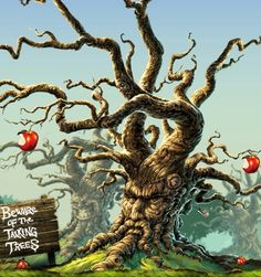 The tree will be the basis of my next tattoo! Love Angry Orchard