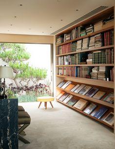 Steven Meisel's Beverly Hills library