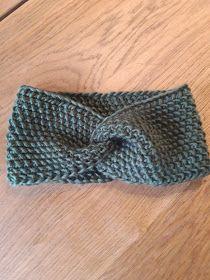 Marikari: Gebreide haarband met patroon Baby Knitting Patterns, Crochet Patterns, Knitted Headband Free Pattern, Cross Stitch Alphabet Patterns, Crochet Diagram, Easy Knitting, Crochet Projects, Knitted Hats, Knit Crochet