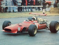 1968 - Chris Amon's (#9) Ferrari - Dutch Grand Prix, Zandvoort - Qualified: 1st, Time: 1:23:54 and Finished: 6th, 5 Laps Down