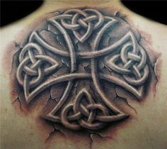 stone celtic cross by hatefulss - 35+ Awesome Celtic tattoo Designs  <3 !