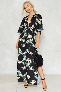 Never Can Say Goodbye Floral Dress