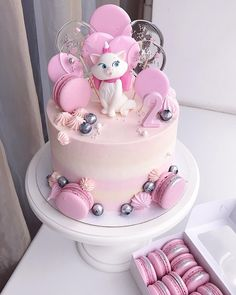 Happy birthday cake: The latest birthday images.Hi welcome guys hope you enjoyi. Baby Girl Cakes, Baby Birthday Cakes, Happy Birthday Baby Girl, Lollipop Cake, Cupcake Cakes, Pretty Cakes, Cute Cakes, Bolo Halloween, Rodjendanske Torte