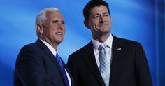 Paul Ryan Joins Pence to Back Ticket - http://conservativeread.com/paul-ryan-joins-pence-to-back-ticket/