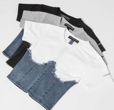 Fashion Sewing, Diy Fashion, Ideias Fashion, Fashion Outfits, Cute Casual Outfits, Stylish Outfits, Denim Corset, Diy Vetement, Diy Clothing