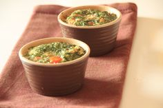 Tuna Flans with Cherry Tomato and Coriander ...