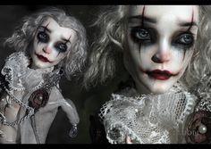 https://flic.kr/p/LrQmPy | The Clown | Monster High Repaint Art Doll OOAK - Heath Burns | Created for Mysterium1