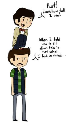 Blaine is adorable.